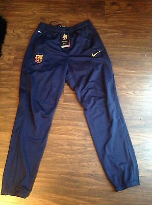 Barcelona tracksuit bottoms medium blue new with tags