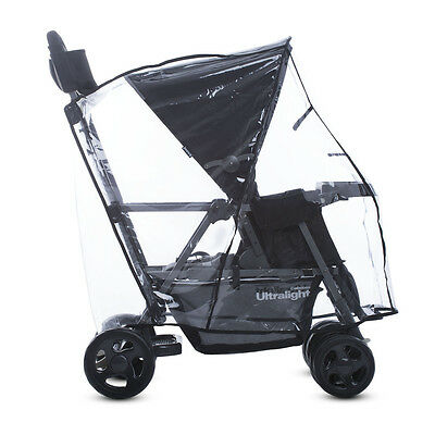 Joovy Caboose Ultralight Rain Cover Baby Stroller Weather Vacation Protection
