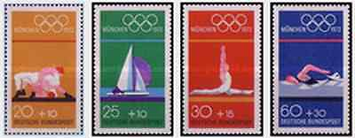 Timbres Sports JO Allemagne 570/3 ** lot 5559