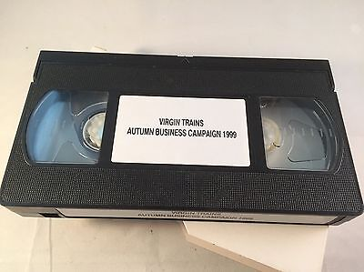 Virgin Trains VHS video - Autumn Business Campaign 1999. Staff issue.