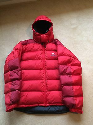 Mountain Equipment Lightline Down Jacket Red