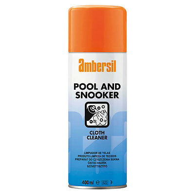 Ambersil Pool And Snooker Cloth Cleaner 400Ml