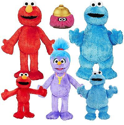 Furchester Hotel Elmo Cookie Phoebe Isabel CBeebies Playskool Plush Toy Talking