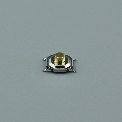 50X 4*4*2.5mm Waterproof Copper Button SMD Tactile Tact Micro Push Switch 4 Pin
