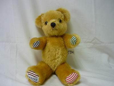 MERRYTHOUGHT Teddy Bear -Oliver Holmes Limited Edition - Thames Hospice 121R1
