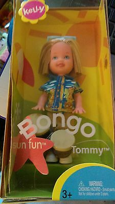 2003 Mattel Kelly RARE BongoTommy with bongo drums. sunglasses and beach outfit