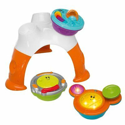used CHICCO 3 IN 1 MUSIIC BAND TABLE BABY TOY