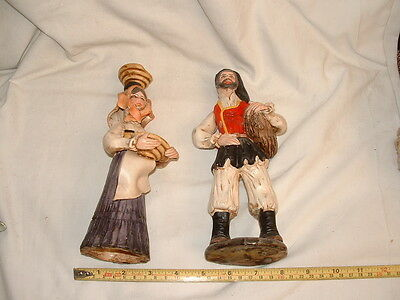 2 Continental Pottery Figures