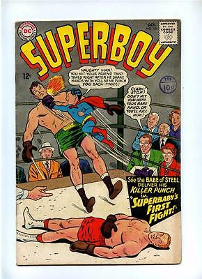 Superboy #124 - DC 1965 - Silver Age - VG/FN - 1st App Insect Queen (Lana Lang)