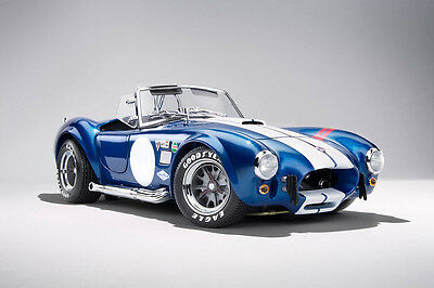 Kyosho Shelby Cobra 427 S/C Blue with red Stripes 1/18