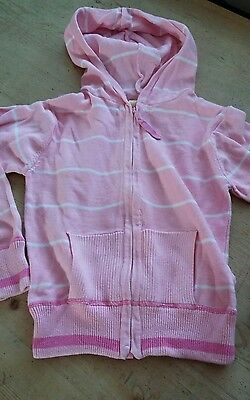 Girls zip up cardigan age 6-7