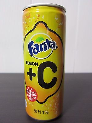 FANTA Japan Fanta lemon+C 250ml Aluminum can From Japan
