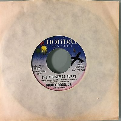 "7"" Dudley Dogg Jr - The Christmas Puppy (1964 Holiday Usa Promo) Ex+"