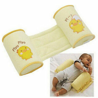 Newborn baby flat head corrector- Baby Positioning/Rollover Prevention Pillow