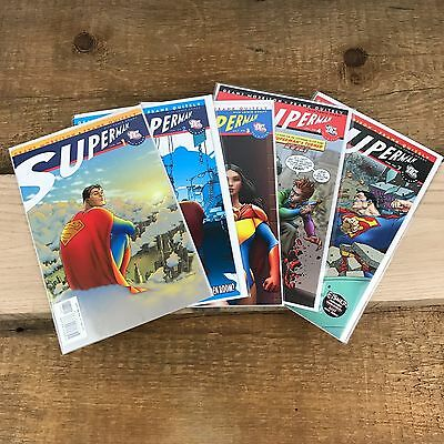 All Star Superman #1,2,3,4 and 7 (DC 2006) Grant Morrison Frank Quietly
