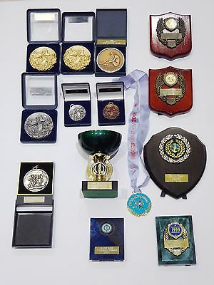 Collection of Canoeing and Athletics Trophies