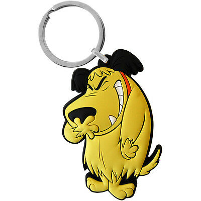 Muttley PVC Keyring. Classic Wacky Races Catch the Pigeon Dick DastardlyGift