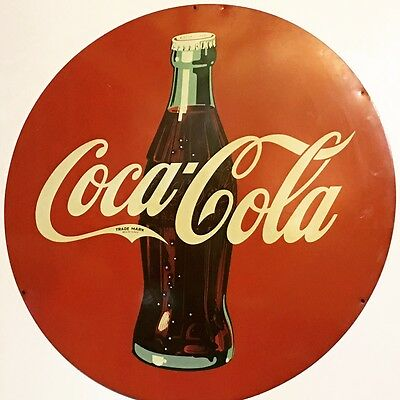 VinTaGe OriGiNaL COCA COLA Sign RARE Soda COKE Collectible