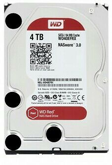"Disque dur 3.5"" Western Digital Red 4TB WD Red NAS Hard Drive HDD 4 TB WD40EFRX"