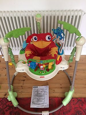 Fischer Price Jumperoo Baby Bouncer Chair With Instructions