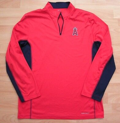 La Angels Majestic Cool Base Baseball Shirt Jersey Top Large Adult