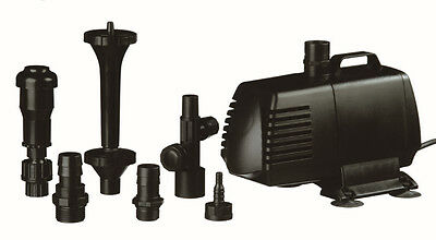 Libel Xtra Fountain Water Feature Pump Water Course Complete Kit Black
