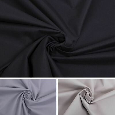 Nightshade Blackout High Quality Fabric Grade 3 Pass Blinds and Curtain Lining