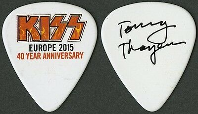 KISS Tommy Thayer authentic 2015 tour Guitar Pick