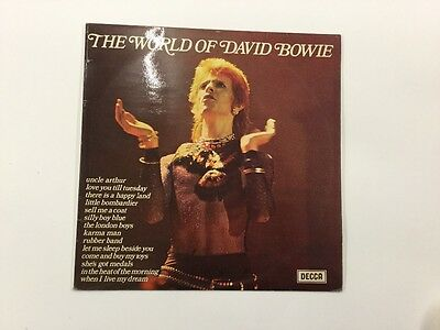 The World of David Bowie. DECCA. vinyl LP