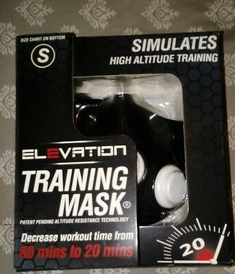 Elevation Training Mask 2.0  High Altitude MMA Fitness - Small. 100-140lbs