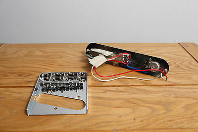 Telecaster Bridge Plate and Pick Up Selector Control Plate