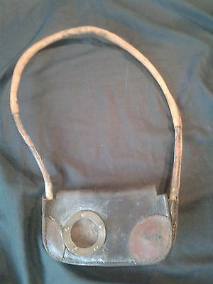 Tyers Single Line Tablet Leather Exchange Pouch or Hoop. Good Vintage condition