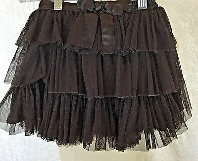 Baby Gap  BROWN  Ruffle Tutu Tulle Skirt ~ Size 4T