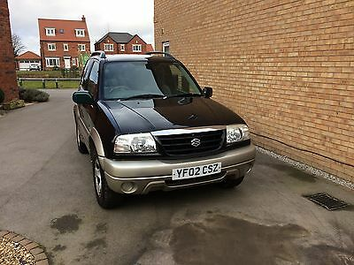 2002 Suzuki Grand Vitara 16V Se Black