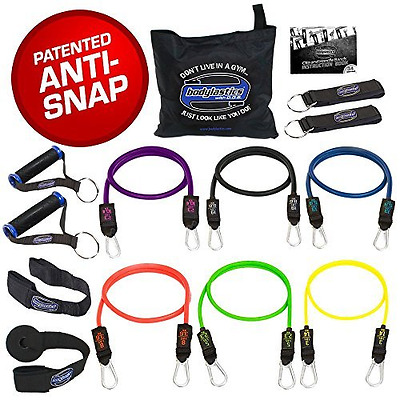 Bodylastics MAX XT Resistance Bands Sets - These top notch Home and Travel Gyms