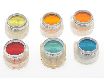 Ferrania, lot of 6 colored filters for Condor I with 50/3.5, exc+++