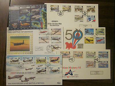 Aviation History - 6 Jersey covers