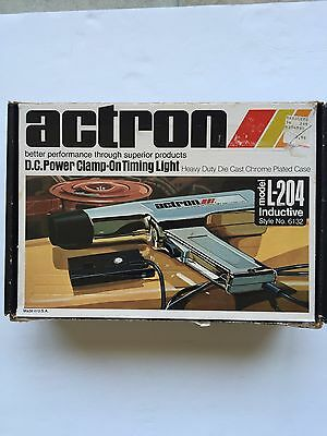 Actron L-204 D.C. Power Clamp On Timing Light Made in USA