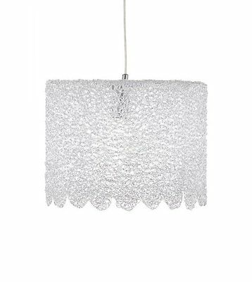 NEW Large Crystal Ice Pendant Light Frosted e27 Home Lighting Hanging Shade