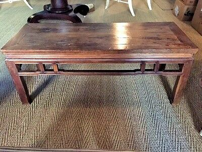 Chinese Antique Ming Spring Bench