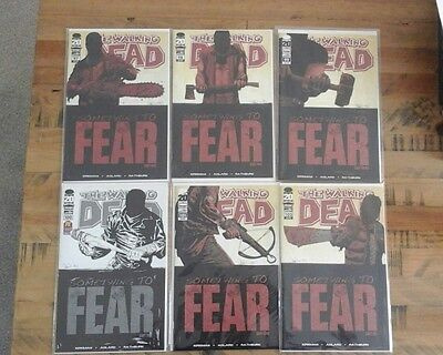 Walking Dead 97 To 102 First Appearance Of Negan Excellent Condition