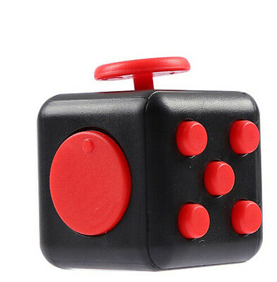 Mini Magic Fidget Cube Anti-anxiety Adults Focus Stress Relief Kids Toy Gift nb