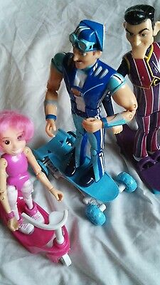 lazy town figures