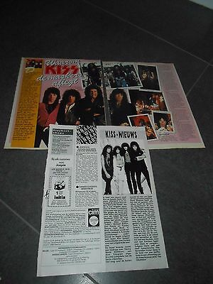 kiss clippings