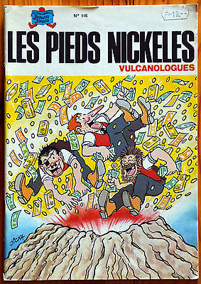 Les Pieds Nickelés vulcanologues (n°116) EO 1985