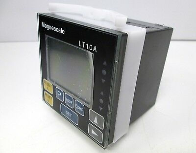 Magnescale / Sony LT10A-205C Digital Counter Gauge Display Meter 2-Axis, RS-232C