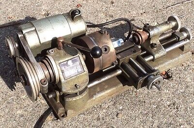 Used Unimat SL DB 200 Lathe Mill / drill press with accessories Made In Austria