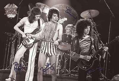 "QUEEN BAND J-4026 THE POSTER 24""x36"" MUSIC ROCK POP CONSERT NEW SIDE WALL SHEET"