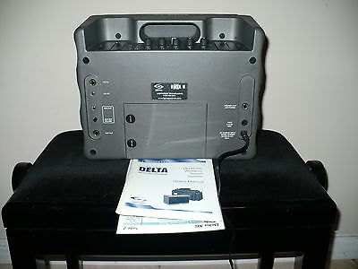 Delta X6 lightspeed wireless sound system portable PA with the owner's manual