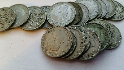 sixpence coins 1947 nwards